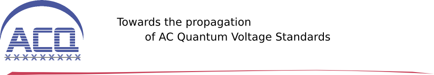 Towards the propagation of AC Quantum Voltage Standards